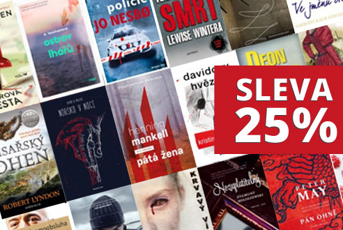 Akce e-knihy 25% sleva