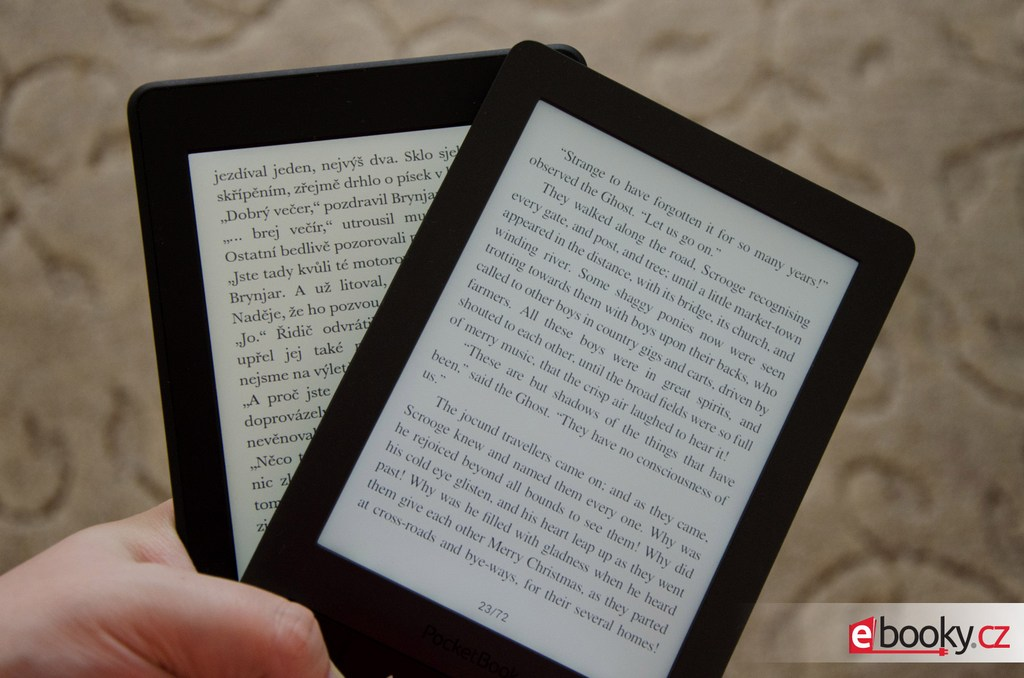 Kindle Paperwhite 2 VS Kindle PocketBook Touch Lux 3