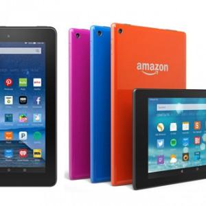 Amazon představil nové tablety Kindle Fire