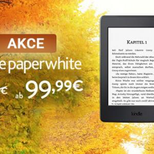 Akce Kindle Paperwhite 3 za 2 700 Kč