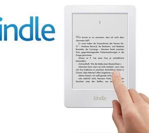 Kupte si nejlevnější čtečku e-knih Kindle 6 od Amazonu v bílé barvě