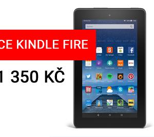 Tablet Kindle Fire za 1350 Kč v akci jen do dnešní půlnoci
