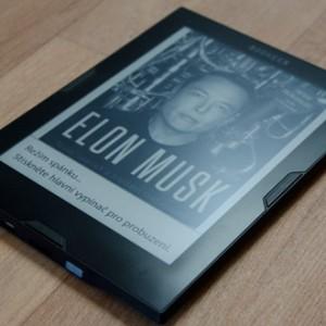 Recenze čtečky e-knih Bookeen Cybook Muse Frontlight