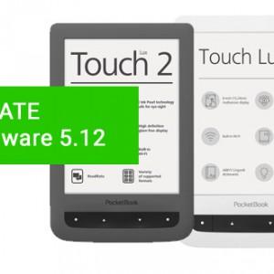 Nový update 5.12 pro PocketBook Touch Lux 3 a 2