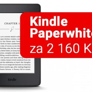 Kindle Paperwhite 3 za luxusní cenu 2160Kč