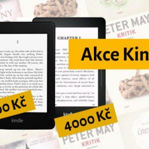 Už jen pár hodin luxusní akce na Kindle Paperwhite a Kindle Voyage