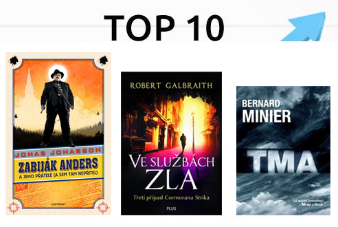 10 nejprodávanějších e-knih v červnu 2016