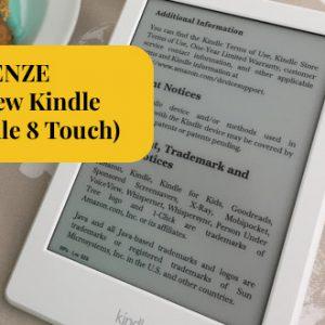 Recenze čtečky e-knih Amazon All New Kindle / Kindle 8