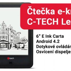 Čtečka eknih C-TECH Lexis