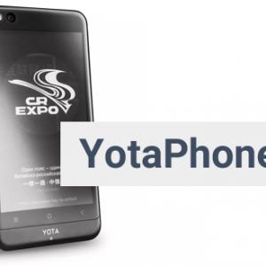 YotaPhone 3 mobilní telefon s E ink displejem