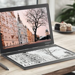 Notebook Lenovo Yoga Book C930 s displejem E Ink