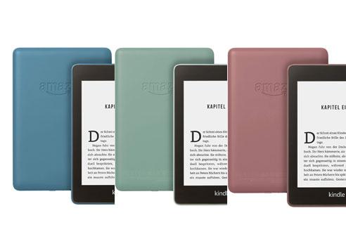 Amazon představil nové barvy čtečky Kindle Paperwhite